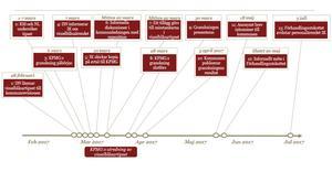 Tidslinje för visselblåsarärendet.Illustration: PwC