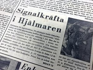 Ur NA 24 juni 1969: Denna dag kom nyheten om att 6000 amerikanska kräftor skulle inplanteras i Hjälmaren.