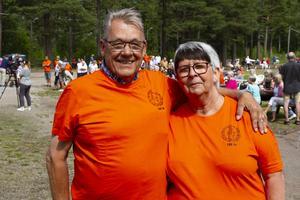 Eldstjälarna Adam och Kicki Sandin har arbetat med föreningen över 30 år.