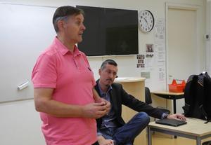 Johan Svedmark, tillförordnad förvaltningschef, berättar att skolorna i Svärdsjöområdet totalt sett är väldigt dyra för Falu kommun.