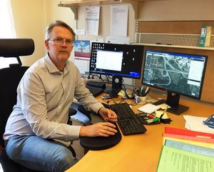 Matti Heino, fysisk planerare Sollefteå kommun.