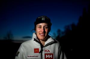 Foto: Pontus Lundahl / TT Under onsdagen berättade Kajsa Kling om tiden som varit och den fortsätta karriären.