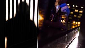 Mannen hade en laddad pistol i byxlinningen när han besökte en krog i Ludvika. Bilden är ett montage.