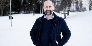 Härnösands pingstkyrkas pastor Christian Mölk.