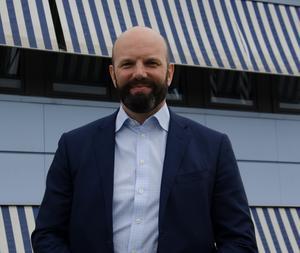 Mattias Dahl, VD för Transportföretagen