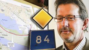 Rolf Berg uppmanar alla med åsikter om 84:ans nya sträckning att skicka yttranden till Trafikverket.