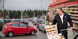Trafiksituationen vid Hemlingby köpcentrum håller inte måttet, tycker Björn Westerlund.