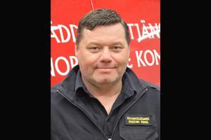 Det har varit extra hög bemanning på Blidö pågrund av problem med trygghetslarmen. – Vi är inte så många på stationen så det har blivit långa arbetspass, säger Stefan Ring, deltidsbrandman på Blidö.