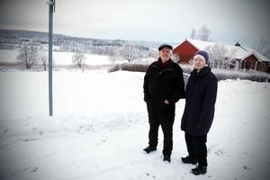 Hans-Olov och Inger Johansson är två av 60-talet boende längs Stjärngatan som inte vill ha ny bebyggelse mellan sin väg och Kyrkviken.
