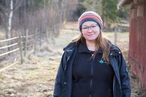 Malin Sundmark, 45 år, i Folkärna, Avesta.