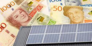 EU står för 39,5 procent av det beviljade stödet.  Fotomontage av TT-bilder.