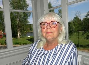 Bodil Lennartsson, grafiker i konstnärsparadiset.