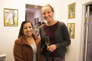 Zhila Khalid fick inspiration inför sitt bröllop, tillsammans med vännen Marit Hedström.