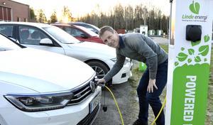 Jens Isemo, vd Linde energi. Arkivbild.
