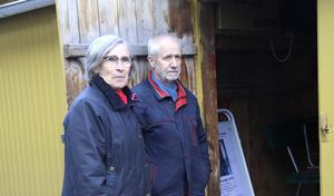 Agneta Werlinder och Hans Landberg är oroliga över museets framtid.