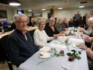 Ett 60-tal medlemmar kom till PRO Domnarvets möte.