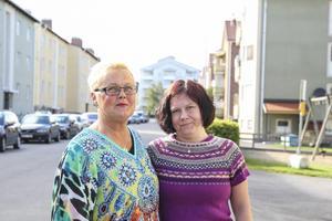 Solweigh Berg och Linda Andersson på Narkotikafritt Bollnäs tycker att drogerna är allas gemensamma ansvar.