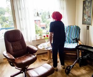Vi är stolta över vår äldreomsorg och vill varken utlokalisera eller bolagisera vården av våra sköraste äldre, skriver debattförfattarna.