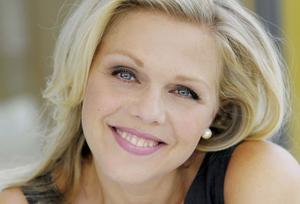 Miah Persson kommer till Gävle och sjunger.Bild: Monika Rittershaus