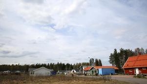 Bara en del av området är bebyggt. Fler etapper väntas i Canada.