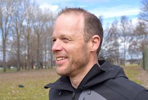 Daniel Tynell är Blodomoppets ambassadör i Borlänge.