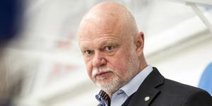 Roger Melin är fundersam över sin framtid inom hockeyn. Foto: Lars Dafgård.