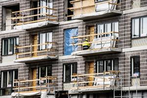 Nu utreds fria hyror för nyproducerade lägenheter. Arkivbild.