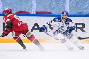 Alex Friesen var inblandad i bråk efter slutsignalen. Bild: Daniel Eriksson/Bildbyrån