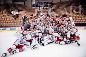 Oskarshamn chockade hockeysverige och tog sig hela vägen till SHL. Bild: Pär Olert/Bildbyrån