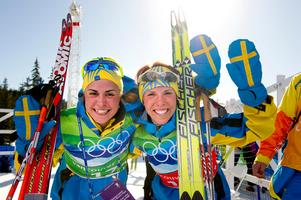 OS-silver sprintstafett 2010. Bild: Bildbyrån.