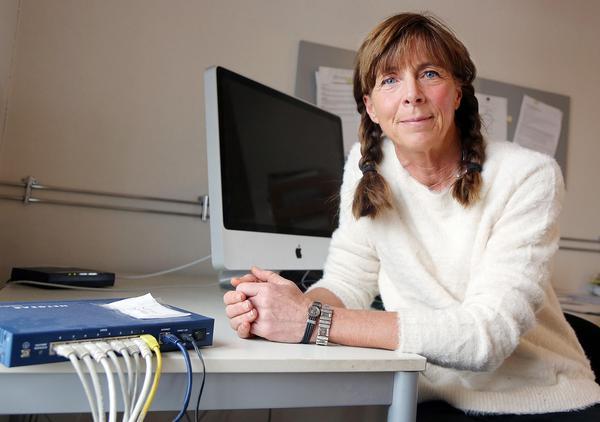 Jag är beroende av uppkoppling och förhoppningsvis kanske det funkar med mobila nätet, säger Marie Fermbäck.
