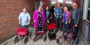 Per Hagman, Eva Wikenholm, Gunnel Wollberg, Oliver Eriksson, Gunvor Karlsson och Bo Liljeberg ser ut att bli av med hissen.