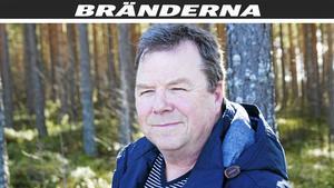 Anders Dahlstrand, skoglig förvaltare i Ljusdals kommun, säger att förlusterna är stora för skogsägarna som drabbas av branden.