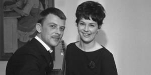 1965. Sven-Bertil Taube och Mona Grain.