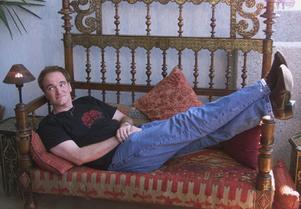 Quentin Tarantino 2001. Foto: AP/Laurent Rebours