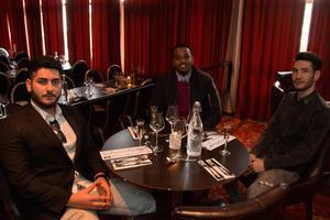 Robin Ali, Hamdi Khalid och Qadir Husseini.