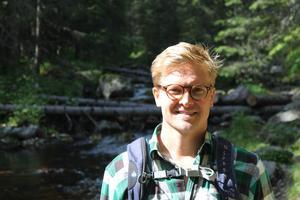 Marcus Ståhl  är vd för Destination Vemdalen. Foto: Privat