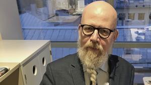 Daniel Nordström,  chefredaktör och ansvarig utgivare för VLT 2020.