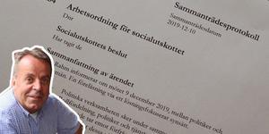 Christer Filipsson, Demokraterna i Norberg är kritisk till sociala utskottets nya arbetsordning.