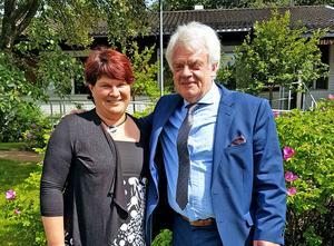Gunnar Linnros har lämnat över personalchefsansvaret till Helena Halvarsson