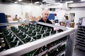 Enligt grundaren Hans Martin vill det japanska företaget fortsätta att satsa i Sverige (foto: Stefan Westerlund).
