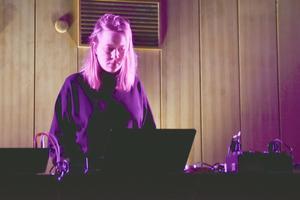 Sissel Wincents musik handlade om  det absurda i tillvaron. Bild Camilla Dal