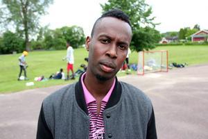 Maslah Omar fick många personkryss och är ny i fullmäktige för S. Foto: Bengt Pettersson