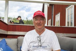 Stellan Stark, sekreterare i  Enångers Båtsällskap och arrangör av Träbåtens dag.