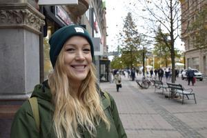 Jenny Lundberg, 32, personlig assistent, Sundsvall: