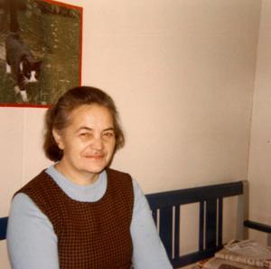 Berta Tjärnberg föddes i norra Ångermanland, men kom att hamna i Finnerödja.  Foto: Privat
