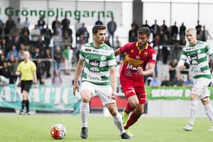 Carlos Moggia imponerade på Skogh under 25-åringens provspel med VSK.
