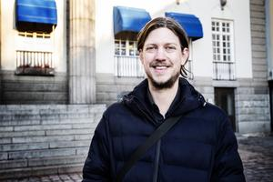Västernorrlands tillträdande teaterchef Kristoffer Berglund.