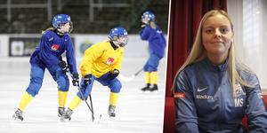 Matilda Svenler är en av spelarna som ska åka till Ryssland för att spela Universiaden i början av mars.