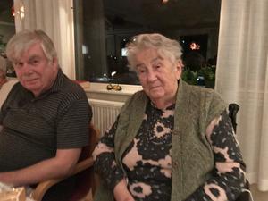 Göran och Ingrid på Tallbackens äldreboende.